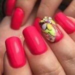 Дизайн ногтей в салонах Маки