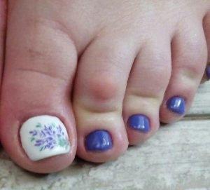 Принты на ногтях